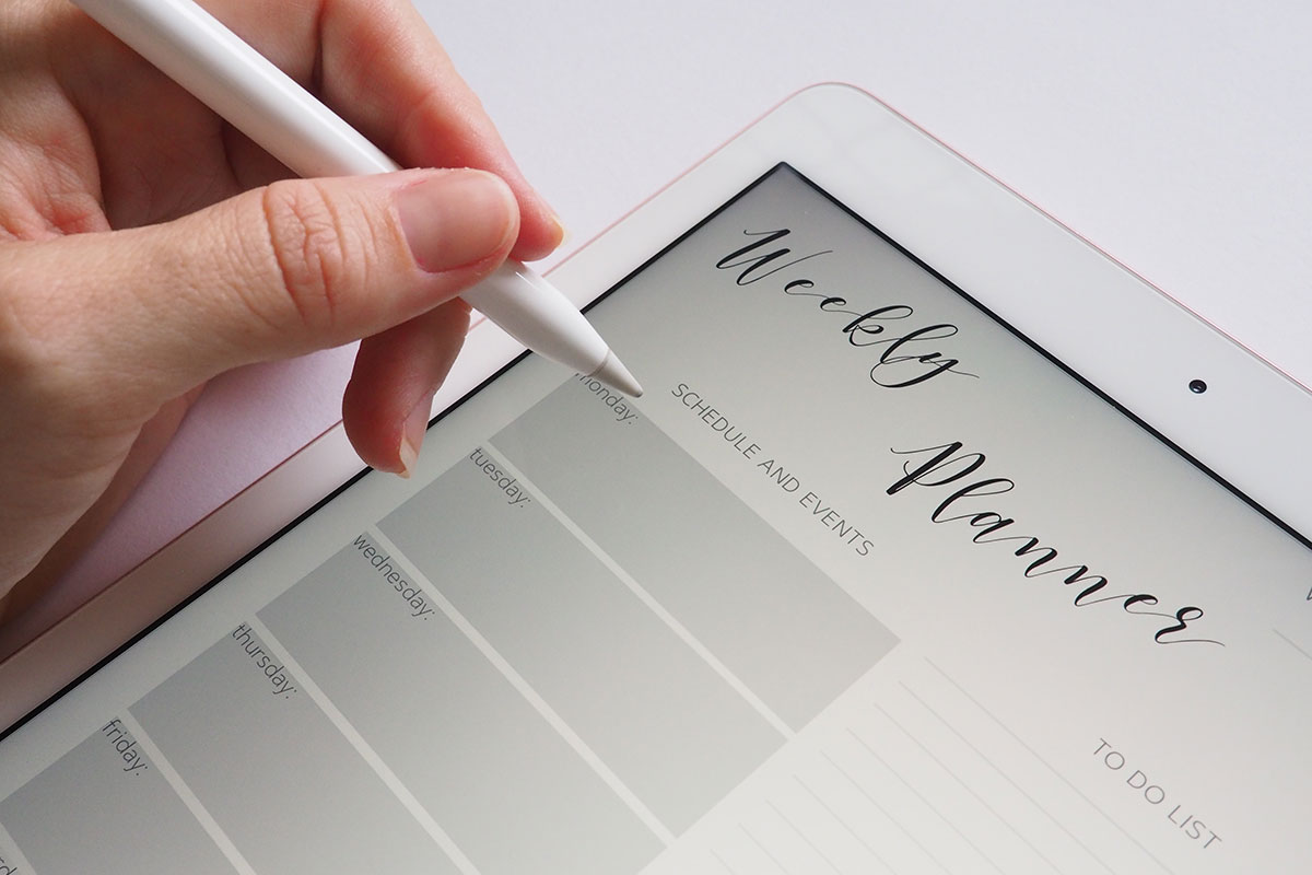 Canva - Person Holding White Stylus